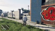 Grand Theft Auto V-screwing around