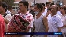 Tianjin : les autorités redoutent une pollution chimique