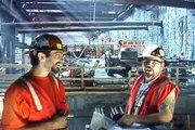 BOSTON LOCAL 7 IRONWORKERS WORKING ON THE BIG DIG 2001 ● Smokin Joe Productions™, JOE PRACTICE™,