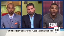 Nelly Takes A Shot At Floyd Mayweather Because Nelly Is A Crazy Person