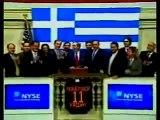 Greece rings closing bell at NYSE