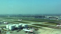 Landing From Control Tower At London Heathrow Airport (20/03/2015)
