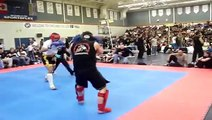 first fight Tony Strong ( STAND UP Muay Thai )