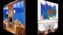 Interior Design, Home Decorating With Modern Art