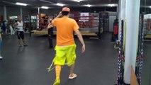 El Sonidito - Hechizeros Band Ft Khriz Y Angel - Quebradita Fitness Routine - Crazy Sock TV