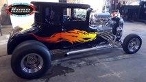NENE NHRA -Ford T 1926 hot rod v8 bigblock  burnout