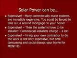 DIY Solar Power Kits - make your own renewable solar energy. Ez.