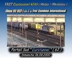Class 92 027 ( EWS )  + Fret Combiné International