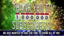 1,000,000 Subscribers Q&A
