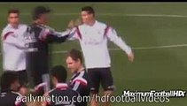 Cristiano Ronaldo and James Rodriguez Funny Moments Cristiano Ronaldo fake vs James 2015 Football