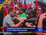 Once Noticias-Transmisión 01 especial de llegada de Manuel Zelaya-sabad 28-may-11- CIN Honduras®