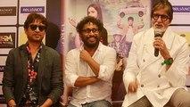 Amitabh Bachchan, Irrfan Khan, Shoojit Sircar @ Piku DVD Launch