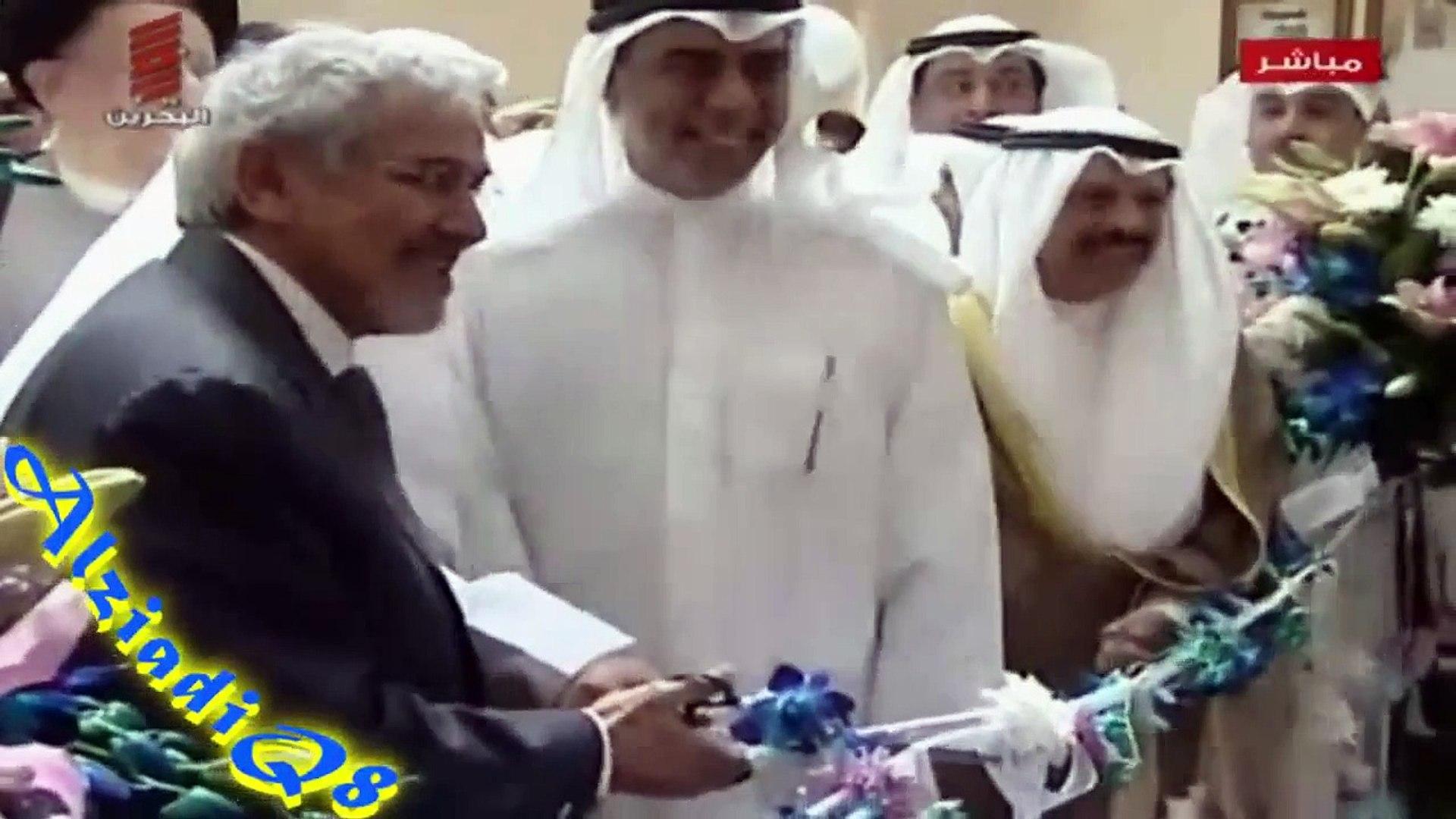 تقرير تلفزيون البحرين عن مسيرة الكويتي محمود حيدر