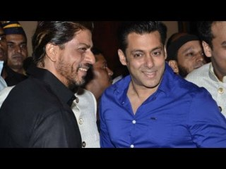 Salman Khan Hosts Bajrangi Bhaijaan's Special Screening for Shahrukh Khan
