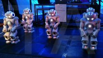 Coachella 2011: Intel and Aldebaran Robotics' Nao Robots Dance in Creators Project tent