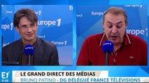 "Bruno Patino : ""Alessandra Sublet a choisi d'aller sur TF1, je le regrette"""