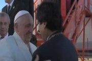 El Papa pide perdón por crímenes contra latinoamérica