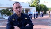 Répétition du Groupe d'Intervention de la Gendarmerie Nationale pour le 14 juillet 2015