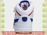 Puma Puma Rebound v2 Hi Kids Unisex-Kinder Hohe Sneakers Wei? (white-limoges-high risk red