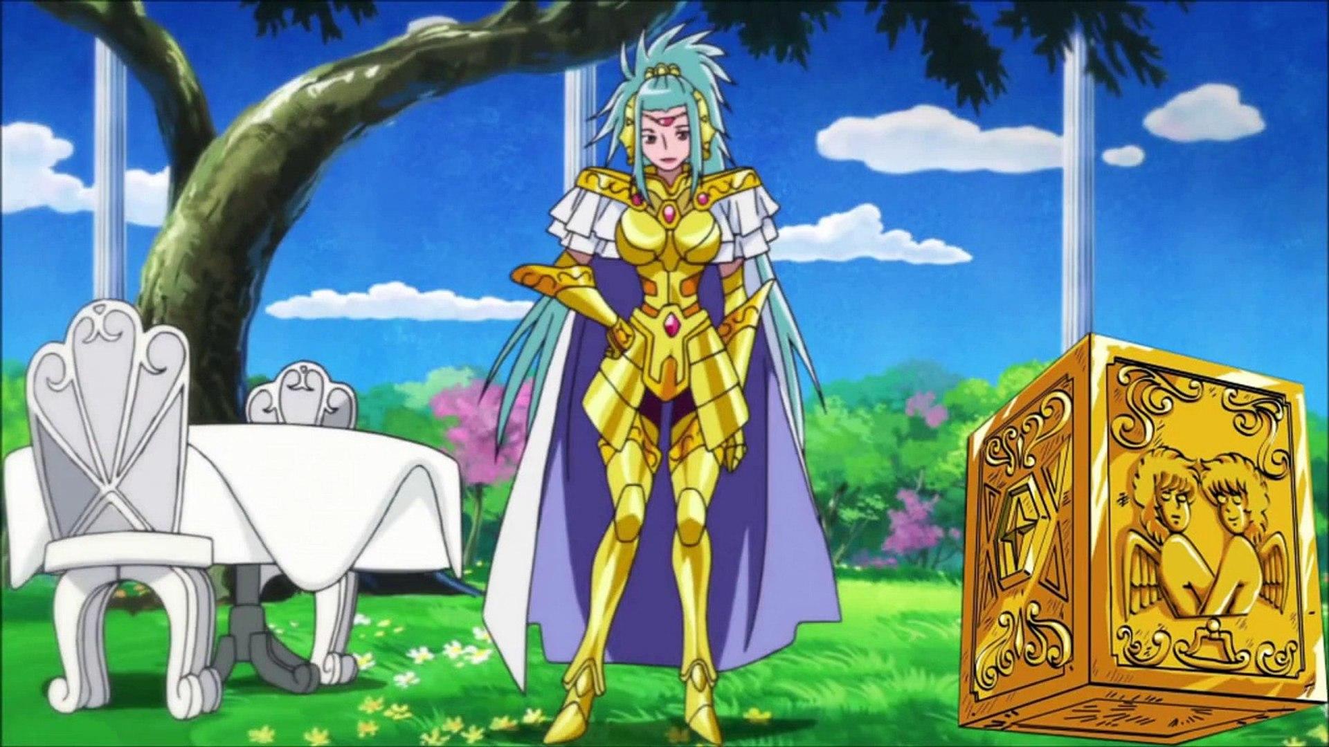 Cdz Omega Os Novos Cavaleiros De Ouro Hd Video Dailymotion