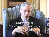Entrevista al Vicepresidente Álvaro García Linera