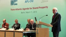 Conference opening and opening remarks - Trans-Atlantic Agenda for Shared Prosperity - IMK