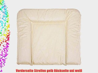 Easy Baby Folienwickelauflage 55//70 cm Karo Gelb