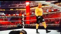 Brock Lesnar vs Seth Rollins --Brock Lesnar demolished Set Rollins HD