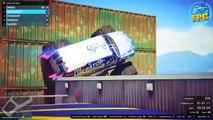 The BATMAN EXTREME Vertical Ramps: GTA 5 CRAZY FUN RACES! (GTA V Funny Moments)