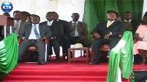 Yoweri Museveni, Raila Odinga in Kisumu
