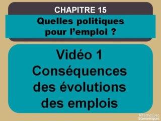 Term chap 12 Conséquences des évolutions des emplois (1)