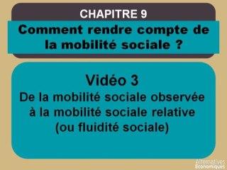 Term chap 7 De la mobilité sociale observée à la fluidité sociale (3)