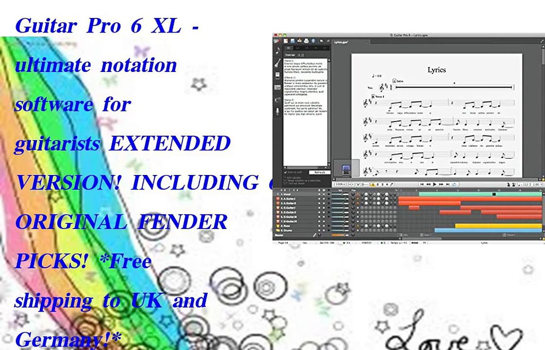 Guitar Pro 6 XL  ultimate notation software
