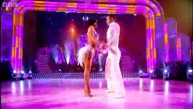 Professional Dance- Flavia and Vincent's Samba - Strictly Come Dancing