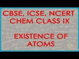 Existence of Atoms - Free State or in Combined State - Chemistry Class IX CBSE, ICSE, NCERT