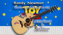 You've Got A Friend In Me - Randy Newman (Toy Story) - Acoustic Guitar Lesson