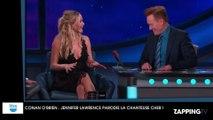Jennifer Lawrence hilarante en chanson, parodie la chanteuse Cher