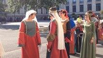 Fêtes historiques : répétition en costume