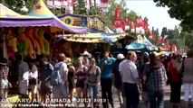CALGARY ,ALBERTA  CANADA  STAMPEDE  A WALKING TRAVEL TOUR 2015 HD