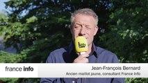 """Etape 7 : Enfin une arrivée """"normale"""" au sprint. Jean-François Bernard"""