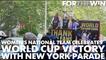 USWNT gets a ticker-tape parade in New York City