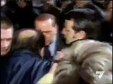 BERLUSCONI FAKE AGRESSION Berlusconi Not Hit in Face: Culposi Merdosi!