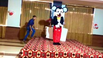 Mickey Mouse Cartoon Avilabele on Rent in Chandigarh for Birthday & Kids Party Event Management Company Chd  Amy Events