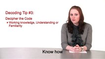 DiceTV: How to Decode the Language of Job Postings