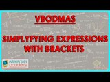 1038.$ CBSE Class VI Maths,  ICSE Class VI Maths -  Simplyfying expressions with Brackets   VBODMAS
