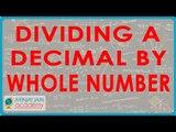 1029 .$ CBSE Class VI Maths,  ICSE Class VI Maths -  Dividing a Decimal by whole number