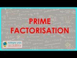 1229. $ CBSE Class VI Maths,  ICSE Class VI Maths -  HCF by Prime Factorisation