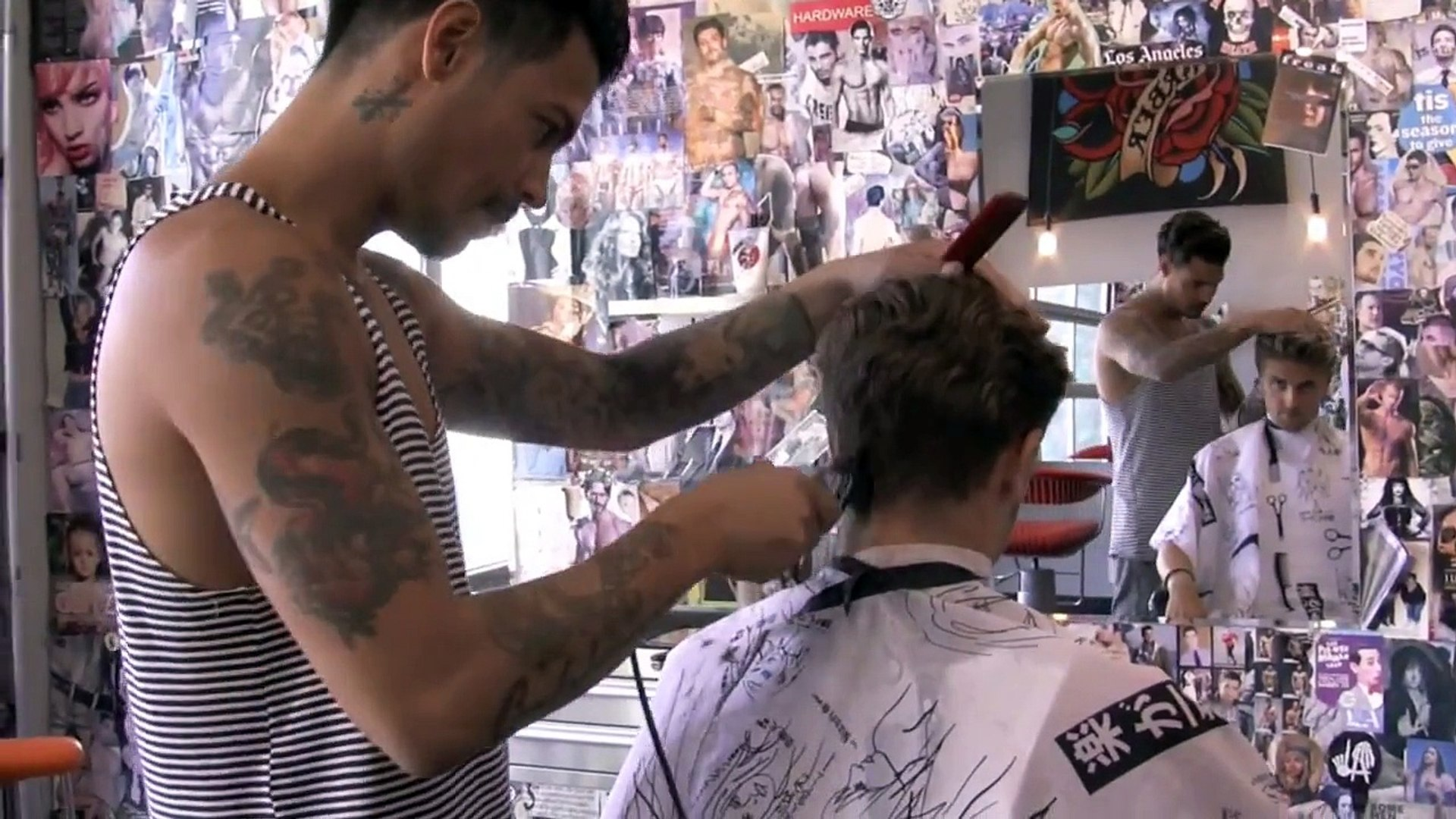 Slikhaar TV Travels | How To Style Men's Hair | Hollywood Style With Daniel Alfonso