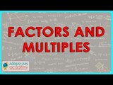 1219.$ CBSE Class VI Maths,  ICSE Class VI Maths -  Factors and Multiples