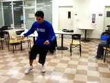 valen freestyle popping dancing take 1